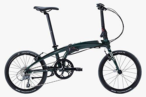 tern(ターン) 2018年モデル VERGE N8(ヴァージュ N8) 20インチ 8段変速 フォールディングバイク B073F5B3Z6 グリーン グリーン