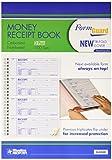 Rediform Formguard Money Receipt Book, 2.75 x 7 Inch, 4x100 Receipts (8L808R)