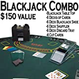 Professional Casino Style PREMIUM Blackjack Set - Play Blackjack at Home!