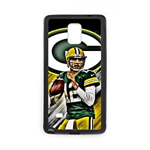Note4 Case Cool NFL Green Bay Packers Aaron Rodgers SamSung Galaxy Note4 (Laser Technology)