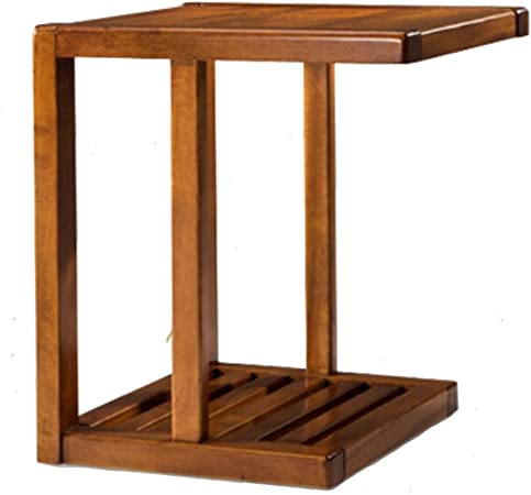 Folding table Nan Revista Rack Estante Europeo Estantes Estantes Simple Teléfono Mesa Sofá Esquina Varias Mesas Pequeñas: Amazon.es: Hogar