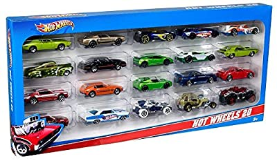 Hot Wheels 20 Car Gift Pack (Styles May Vary)   Popular Toys