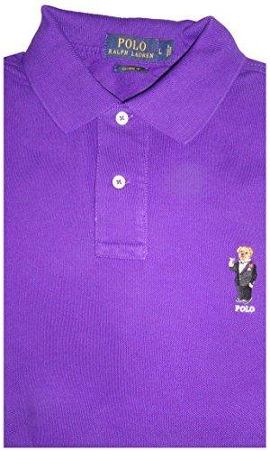 Polo Ralph Lauren Mens Custom-Fit Patchwork Polo