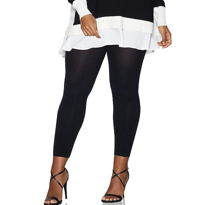 0b6bad53fb7ad Hanes Curves Blackout Footless Tights at Amazon Women's Clothing store: