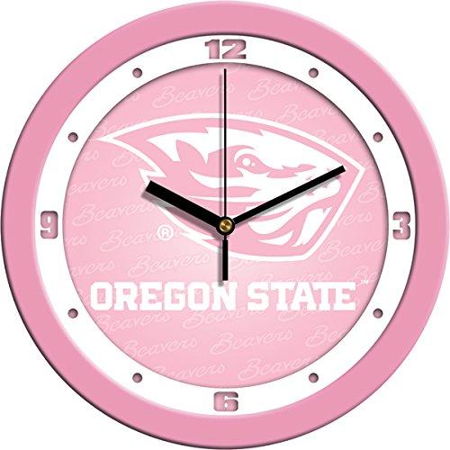 SunTime NCAA Oregon State Beavers Wall Clock - Pink