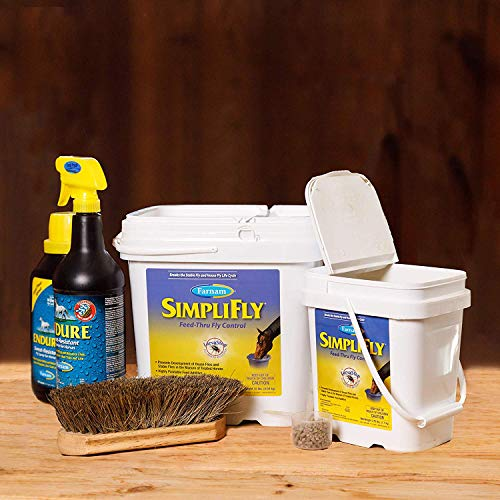 Farnam SimpliFly Feed-Thru Fly Control for Horses, Breaks and Prevents the Fly Life Cycle, 10 pound by Farnam (Image #5)