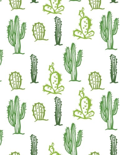 Cactus Notebook: Writing Ruled Lined Diary Printed Design The Desert Plant (Composition Book Journal) (Large, 8.5 x 11 Inches, 121 Lined Page, Paperback) (Volume 1)