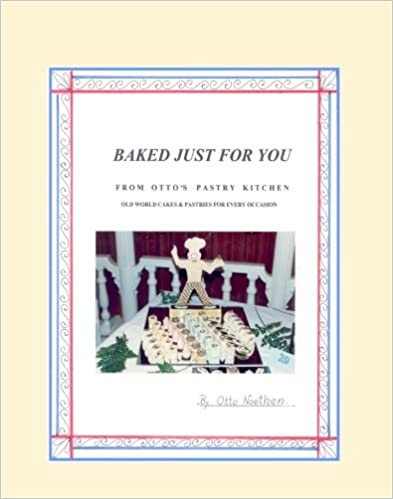 Book Baked Just For You
