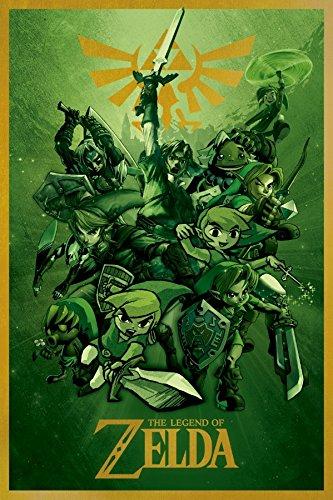 The Legend Of Zelda Nintendo Video Game Poster
