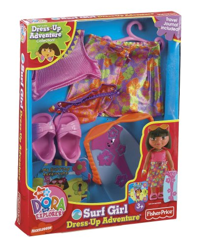 Dora's Dress-Up Adventure Fashions - Surfer Girl