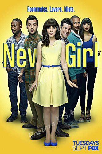 New Tv Show Poster - Posters USA New Girl TV Series Show Poster GLOSSY FINISH - TVS237 (24