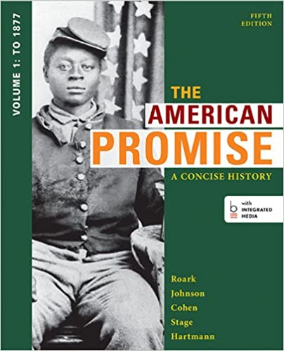 Amazon the american promise a concise history volume 1 to the american promise a concise history volume 1 to 1877 fifth edition fandeluxe Images