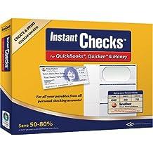 VersaCheck Instant Checks Form # 3001 Personal Wallet Check, Green Graduated,250 Sheets/750 Checks