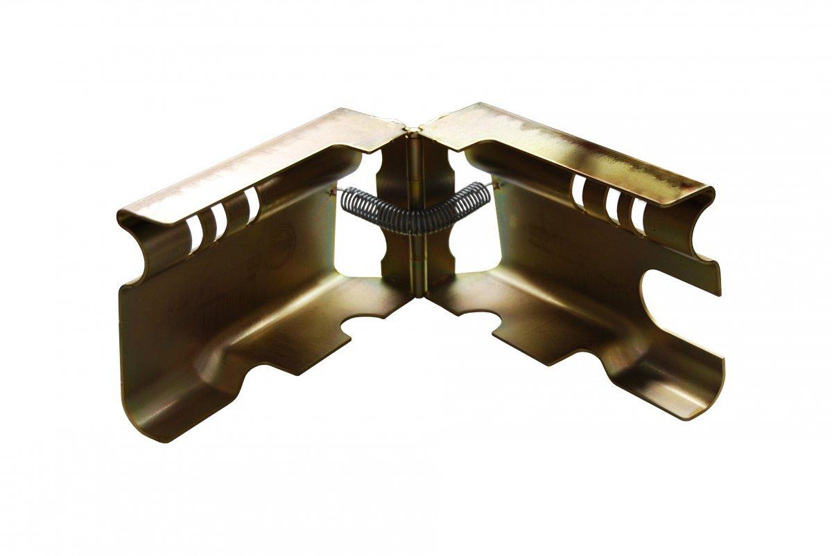 AVB Albe Safety Box XL Diebstahlsicherung mit Vorhangschlo/ß Top Sicherung f/ür an und abgekuppelte Anh/änger