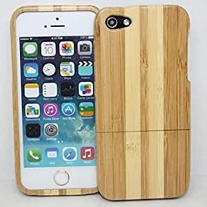 Mini - Protective Wood Back Case for iPhone 5G
