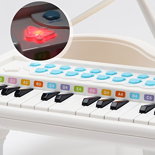 Amy&Benton Toy Piano for Baby & Toddler Piano Keyboard Toy for Girls Kids Birthday Gift Toys for 1 2 3 4 Years Old…