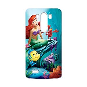 DAHAOC The Little Mermaid Cell Phone Case for LG G3