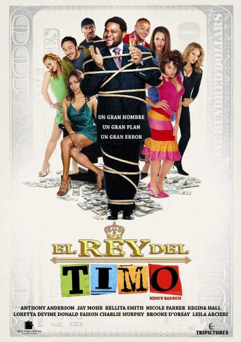 King's Ransom Movie Poster (27 x 40 Inches - 69cm x 102cm) (2005) Spanish Style B -