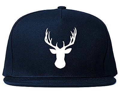 Elk Antler Deer Animal Snapback Hat Cap