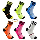 VWU Mens Cycling Socks Running Sports Socks Size 6-11