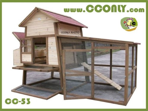 CC Only CC-53 Chicken Coop Hens House Or Rabbit Hutch