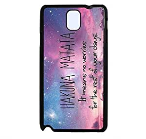 Note 3 Case,LYYF New Fashion and High Quality the Galaxy Space Hard Case/cover for Samsung Galaxy Note 3