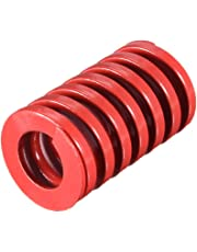 uxcell® 25mm OD 40mm Long Spiral Stamping Middle Load Compression Mould Die Spring Red 1Pcs