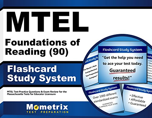 MTEL Foundations of Reading (90) Flashcard Study System: MTEL Test Practice Questions & Exam Review for the Massachusetts Tests for Educator Licensure (Cards)