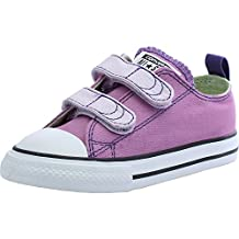 Converse Chuck Taylor All Star 2V Infant Powder Purple Textile Trainers