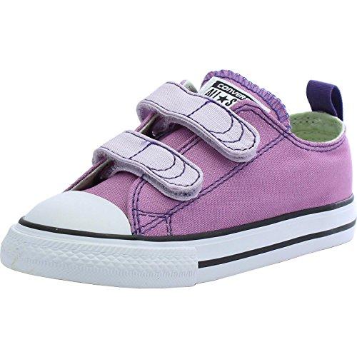 Converse Chuck Taylor All Star 2V OX Sneaker Kleinkinder Powder Purple
