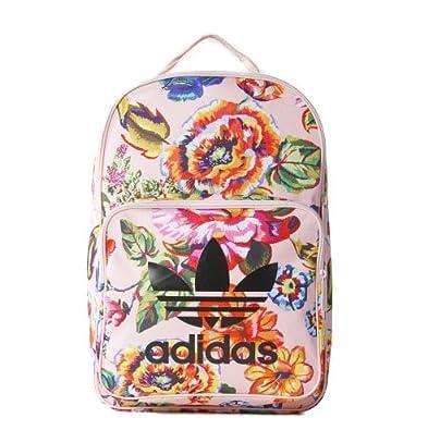 d3e39ca03725 Amazon   [アディダス]Adidas Originals by The Farm Company オリジナルス リュック バックパック  フローラルプリント 花柄 CLASSIC BACKPACK FLORAL LOLITA ...
