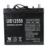 Pride BATLIQ1018 12V 55Ah Sealed AGM Battery Group 22NF