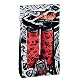 Cinelli X Mike Giant Art Design Bicycle Grips, Red