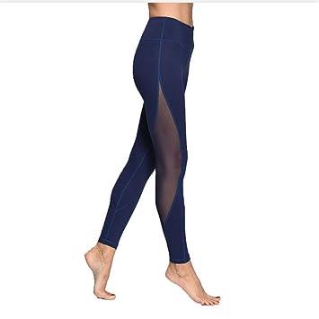 Shuangklei Slim Women Mesh Sport Yoga Leggings Running Gym ...
