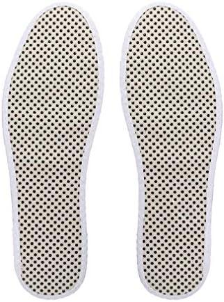 Unisex Einlegesohlen, Fernes Infrarot Warmer Fuß Turmalin Schuheinlagen, Magnet Selbsterhitzung Warmes Baumwollgewebe Einlegesohle Gesundheitsmassage, Förderung Der Zirkulation, für Outdoor & Indoor