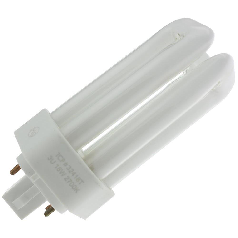 TCP 32W Triple Tube PL Lamp GX24q-3 Base CFL - 32432T (Case of 24)