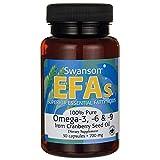 Swanson 100% Pure Omega-3,-6 & -9 700 Milligrams 30 Capsules Review