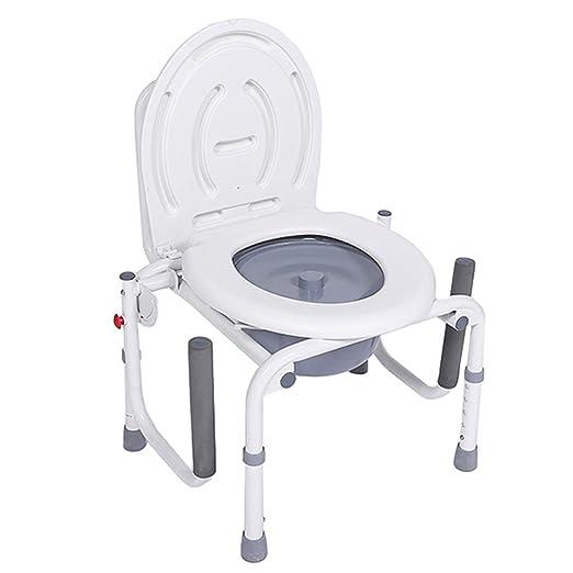 Silla Plegable Silla de Ducha | Silla de baño Silla WC Inodoro con ...