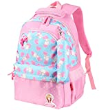 Vbiger Kids Backpack Adorable Primary School Bag for Little Girls(Pink)
