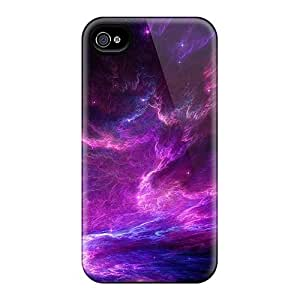 Fashion Case Cover For Iphone 4/4s(purple Sky)