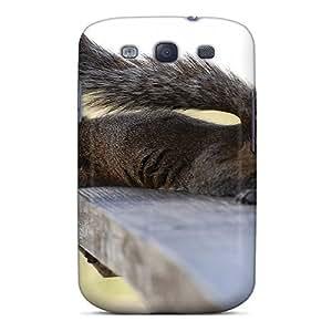 EIFHffm995VLqsJ Case Cover Funny Squirrel Galaxy S3 Protective Case
