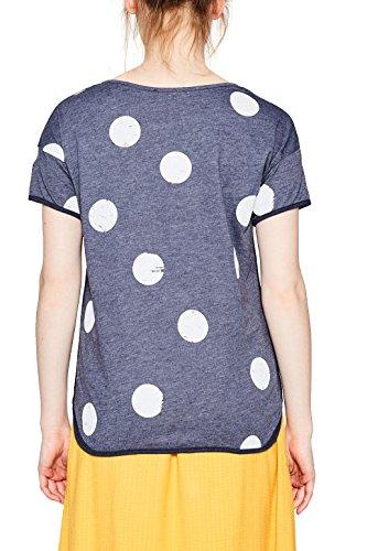 edc by Esprit, Camiseta para Mujer Azul (Navy 5 404)