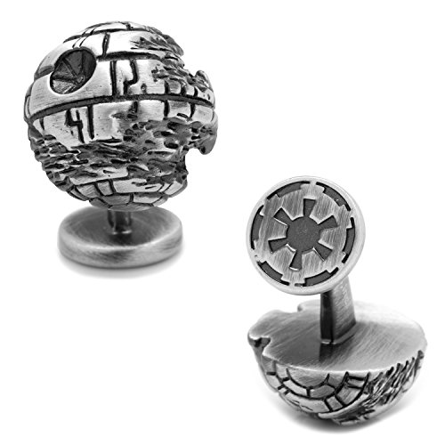 Star Wars 3D Death Star II Cufflinks, Officially Licensed