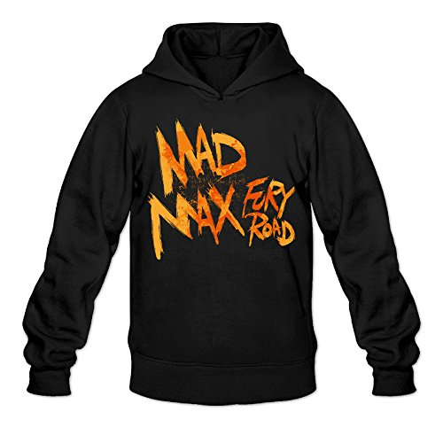 Rebecca Funny Mad Max Furys Road Men's Long Sleeve Hoodie M (Mad Max Nux)