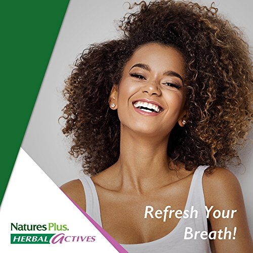 Natures Plus Herbal Actives Optifresh Herbal Breath Gels (12 Pack) - 50 Count - Maximum Potency Natural Bad Breath Remedy, Herbal Halitosis Relief - 300 Total Serving by Nature's Plus (Image #7)