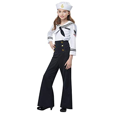 Navy/Sailor Costume for Kids: Toys & Games