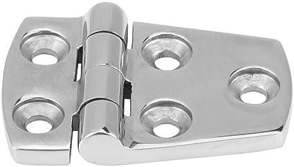 102 * 38 Qiilu QL05385 2pcs Sostituzione della cerniera della porta della porta del bagno in acciaio inox
