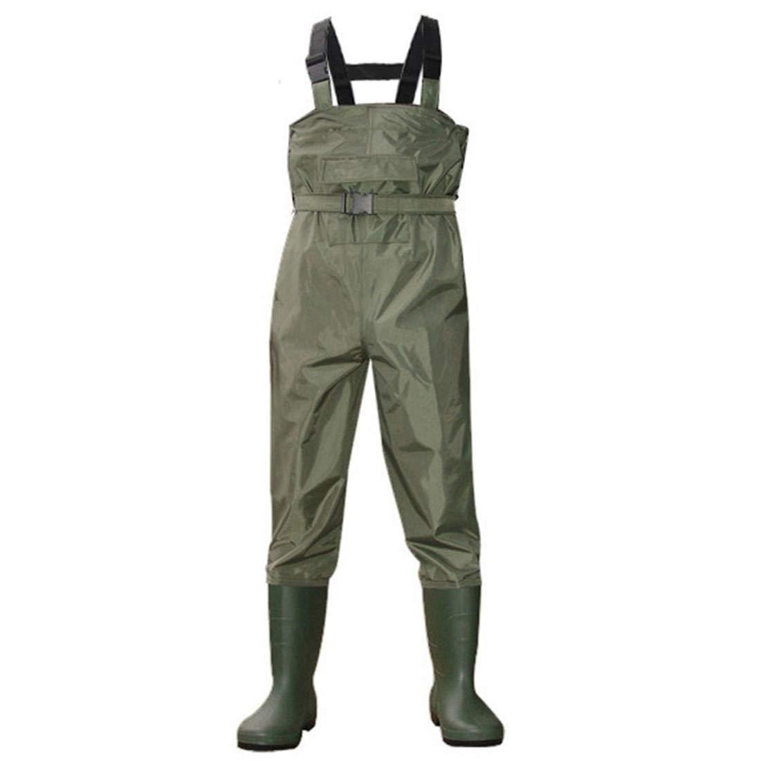 誕生日プレゼント Autek 釣り用チェストウェーダーパンツ ブーツ 防水 ブーツ 通気性 アーミーグリーン 通気性 調整ベルト 防水 41 B07GZFRQLN, AVANCE アヴァンス:4d8be3df --- a0267596.xsph.ru
