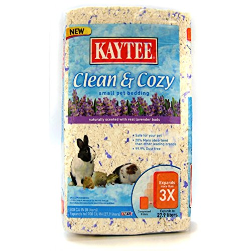 Kaytee-Clean-and-Cozy-Bedding-Lavender-1000-Cubic-Inch-Packing-May-Vary