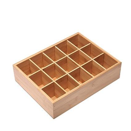 MEIDUO Estantes de pared Organizador de cajones, divisor de cajones y caja de almacenamiento para